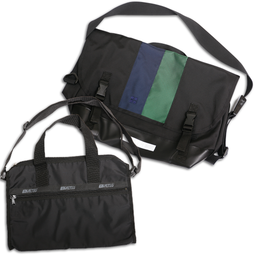 通学鞄(大・小)と補助バッグ