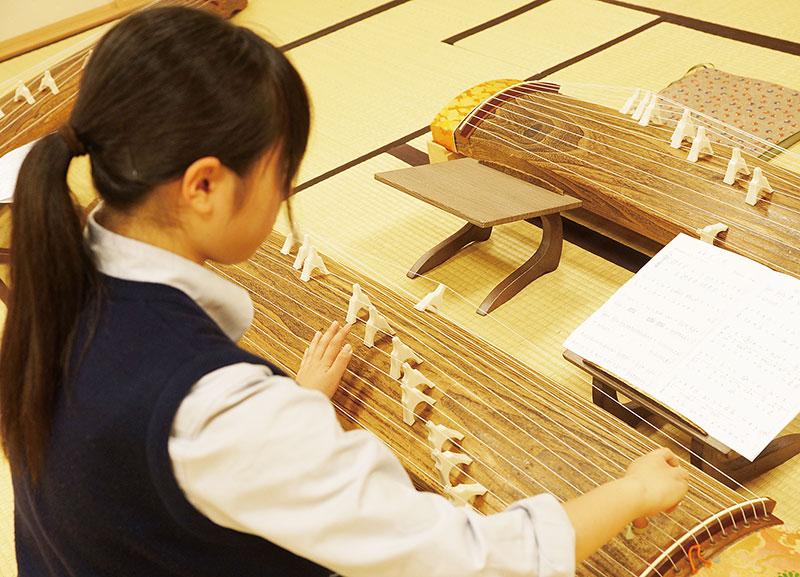 日本文化(花道・茶道・筝曲)